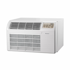 GREE 26TTW09HC230V1A Through the Wall Air Conditioner with Electric Heat, 9,300 BTU, 230/208 Volt, EER Rating 9.8, Electronic Controls with Remote, Wall Sleeves Needed for New Installations Sold Separately