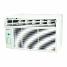 Keystone KSTAW08A 8,000 BTU Window Air Conditioner, 115 Volt, EER Rating of 10.8, Energy Star, Electronic Controls with LED Display and Remote Control, Window Kit Included