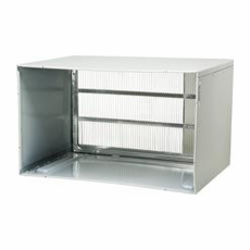 LG AXSVA4 Through the Wall Insulated Steel Wall Sleeve, Stamped Grille