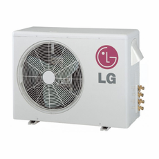 LG LMU247HV 24,000 BTU Outdoor Condenser with Heat Pump and Advanced Inverter Technology, Energy Star Rated, De-Frosting De-Icing Capabilities, Self Diagnosis, Auto Restart and Operates down to 14 Degrees Fahrenheit