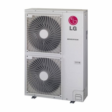 LG LMU540HV Multi F MAX 54,000 BTU Outdoor Condenser with Heat Pump and Advanced Inverter Technology, De-Frosting De-Icing Capabilities, Self Diagnosis, Auto Restart, Operates down to 14 Degrees Fahrenheit and  Connects up to 8 Zones