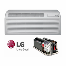 LG LP153HDUC PTAC Air Conditioner with Heat Pump, 15,100 BTU'S, 230/208 Volt, EER Rating of 11.2, GoldFin Protection, Power Cords, Wall Sleeves and Grilles Needed for New Installations Sold Separately