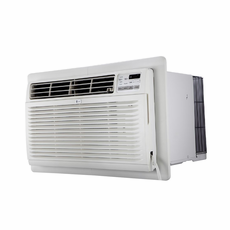 LG LT1034HNR 10,000 BTU Through the Wall Air Conditioner with 11,200 BTU Electric Heat, 230/208 Volt, Energy Saver Mode, EER Rating of 9.4, GoldFin Corrosion Protection, Digital Controls with Remote Control, Wall Sleeves are Required for New Installations (Sold Separately)
