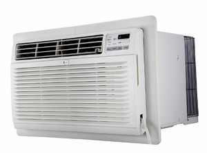 LG LT1234HNR 11,500 BTU Through the Wall Air Conditioner with 11,200 BTU Electric Heat, 230/208 Volt, Energy Saver Mode, EER Rating of 8.8, GoldFin Corrosion Protection, Digital Controls with Remote Control, Wall Sleeves are Required for New Installations (Sold Separately)