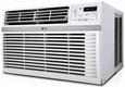 LG LW2514ER 24,000 BTU Window Air Conditioner, 230/208  Volt, EER Rating of 9.4, Electronic Controls with Remote Control Included, 3 Fan Speeds, 12 Hour Timer, Energy Saver Mode, Window Installation Kit Included
