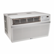 LG LW2515ER Window Air Conditioner, 24,000 BTU, 230/208 Volt, Energy Star Rated, EER Rating 9.8, Electronic Controls with Remote Control and Window Installation Kit Included