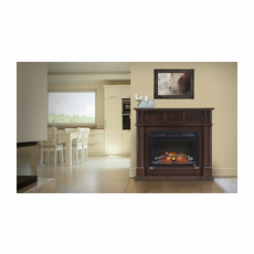 NEFCP24-0116E by Napoleon, The Bailey Electric Fireplace Mantel Package, Napoleon Cinema� 24 Electric Fireplace with Log Set Included