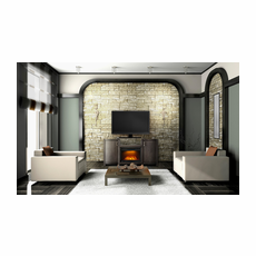 NEFP24-0516GRW by Napoleon, The Whitney Electric Fireplace Mantel Package, Napoleon Cinema� Glass 24 Electric Fireplace Included