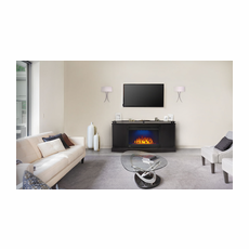 NEFP27-3116B by Napoleon, The Anya Electric Fireplace Mantel Package, Napoleon Cinema� Glass 27 Electric Fireplace Included