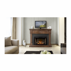 NEFP29-1215BW by Napoleon, The Braxton Electric Fireplace Mantel Package, Napoleon Cinema� 29 Electric Fireplace Included