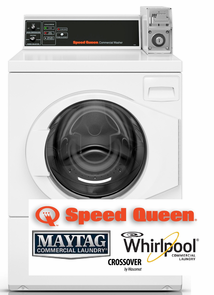 Speed Queen Commercial Laundry, PREP FOR COIN DROP
