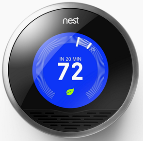 Wi-Fi Controlled Wall Thermostats