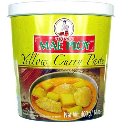 Yellow Curry Paste Mae Ploy