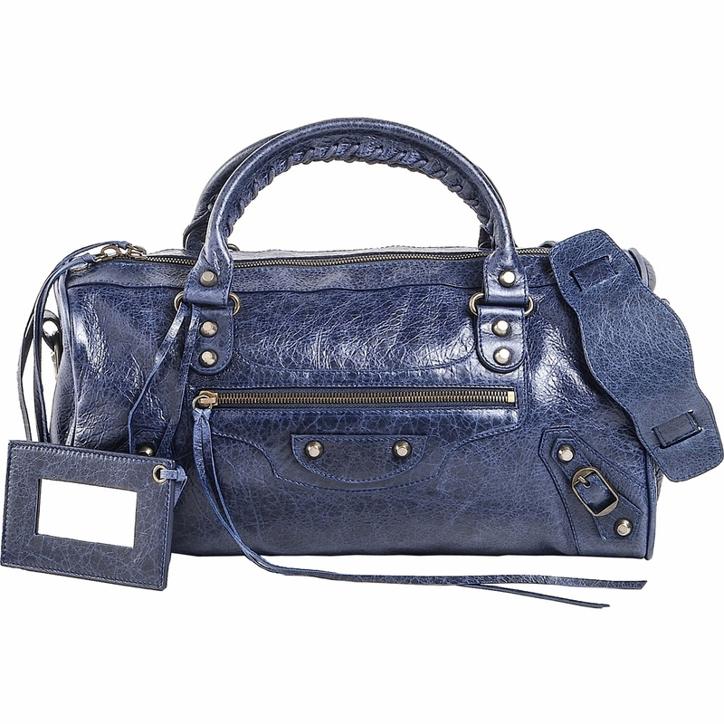 Balenciaga Handbag Twiggy - Navy Blue