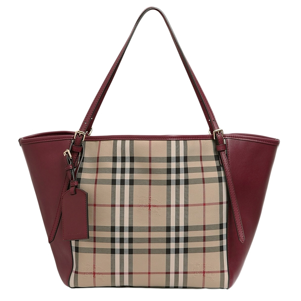 Tote bag burberry - Burberry Burberry Horseferry Signature Leather Tote Bag
