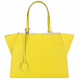 Fendi 3jours Large Shopping Tote 8BH272 - Yellow