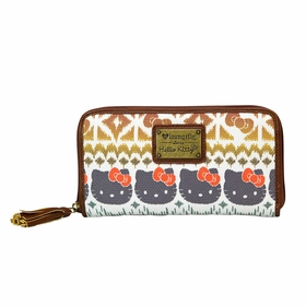 Hello Kitty Boho Ikat Wallet - Multi-color