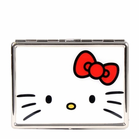 Hello Kitty Bow ID Case - White/Red