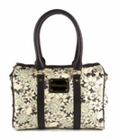 Loungefly Floral Skull Barrel Bag
