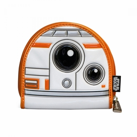 Loungefly Force Awakens bb-8 Embossed Coin Bag - White