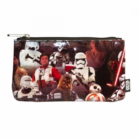 Loungefly Force Awakens Multi Character Coin Cosmetic Bag - Red
