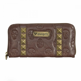 Loungefly Skull Pyramids Wallet - Brown