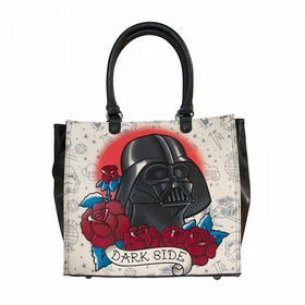 Loungefly Star Wars Darth Vader Tattoo Tote - MultiColor