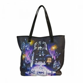 Loungefly Star Wars Space Scene Tote - MultiColor