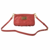Marc by Marc Jacobs Leather Crossbody Bag - Bright Persimmon