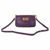 Marc by Marc Jacobs Leather Crossbody Bag - Pansy Purple