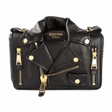 Moschino Biker Shoulder Bag - Black