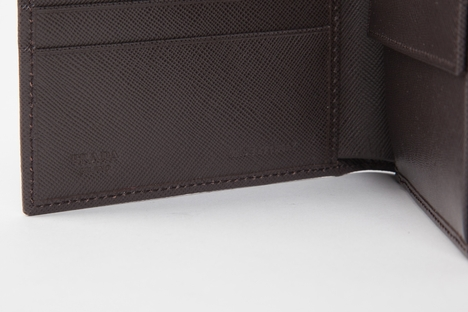 Prada Men's Wallet 2M0738 - Brown