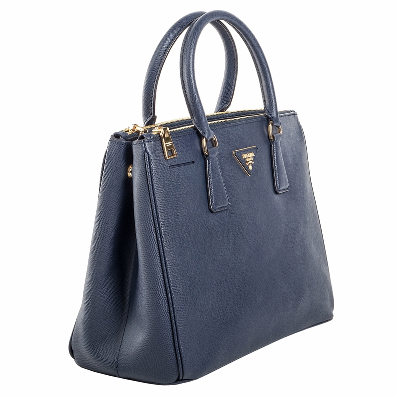 Prada Saffiano Leather Handbag BN2274 - Blue