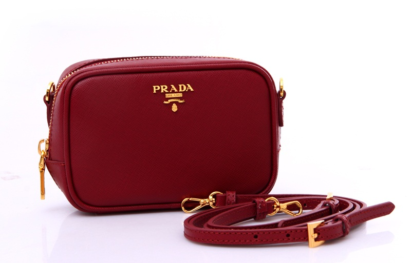 Dark Red Shoulder Bag 107
