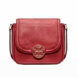 Tory Burch Amanda Round Cross Body Bag Perth Auburn - Red