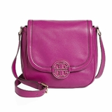 Tory Burch Amanda Round Cross Body Bag Perth Fushia - Purple