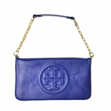 Tory Burch Bombe Reva Clutch Shoulder Royal Ocean - Blue