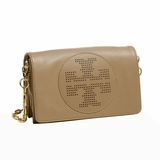 Tory Burch Kipp Cross Body Bag Sand Dollar - Brown