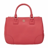 Tory Burch Robinson Double Zip Tote Bag - Red