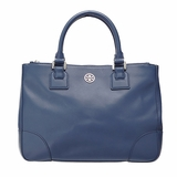 Tory Burch Robinson Double Zip Tote - Blue