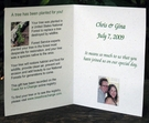 Custom Printed Tree Gift Card Favor