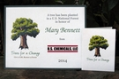 Option #2   Personalized Tree Gift