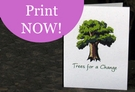 Printable Instant Tree Gift