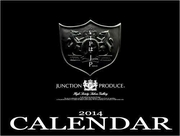 Junction Produce VIP Car Calendar 2014