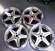 Used JDM Work Euroline SL 20x8 20x9.5 5x114.3 Wheels