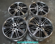 Used JDM Work Varianza 18x8 18x9 5x114.3 Wheels