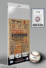 1937 World Series Mini-Mega Ticket - New York Yankees