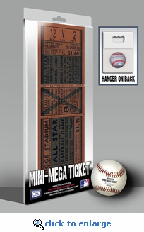 1941 MLB All-Star Game Mini-Mega Ticket - Detroit Tigers