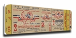 1949 World Series Canvas Mega Ticket - New York Yankees