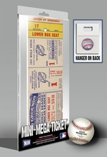 1954 World Series Mini-Mega Ticket - New York Giants